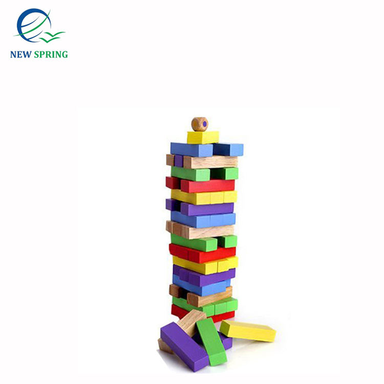 Best Choice For Bulk Quantity With Board Game Rubber Wood Children Educational IQ Diy Toys Games