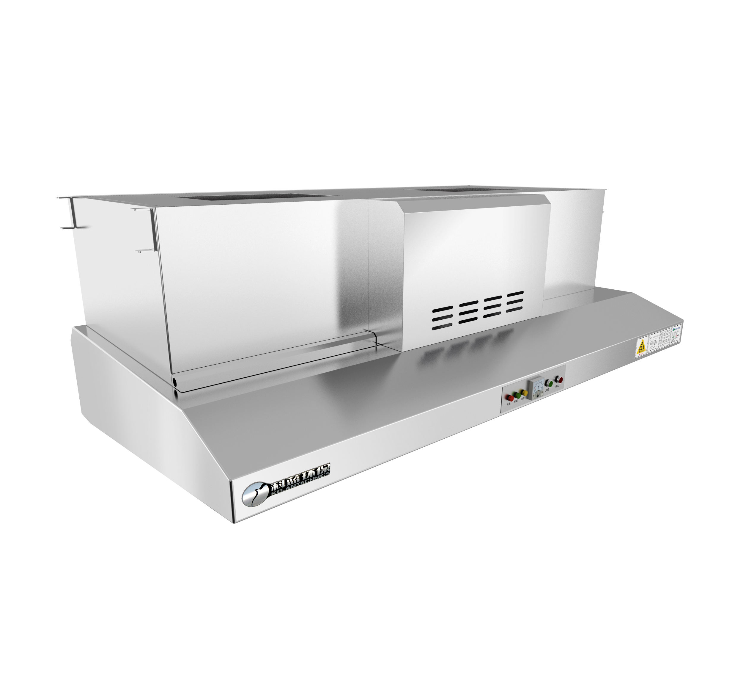 Commercial Kitchen Exhaust Emission Range Hood with ESP Filter