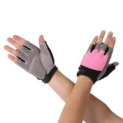 Fine Quality Women Weight Lifting Gloves Gym Training Ladies Sports Workout Fitness Gloves
