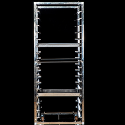 Food Trolley  Stainless steel 32 Trays Tray Trolley /Gastronorm Trolley/ For Storage
