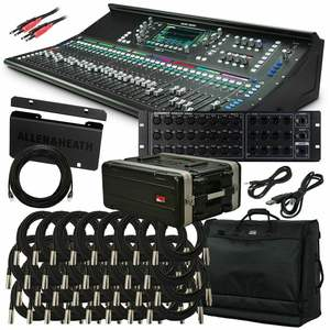 Allen & Heath SQ-7 48-Channel / 36-Bus Mixer Digitale con 32 + 1 Motorizzato fader