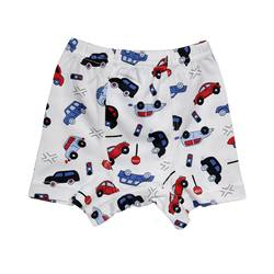 High Quality %100 Cotton Soft Boy Kids Boxer Girl Sleepwear Kids Boy Fashion Design Kids Underwear Short Made in Turkey