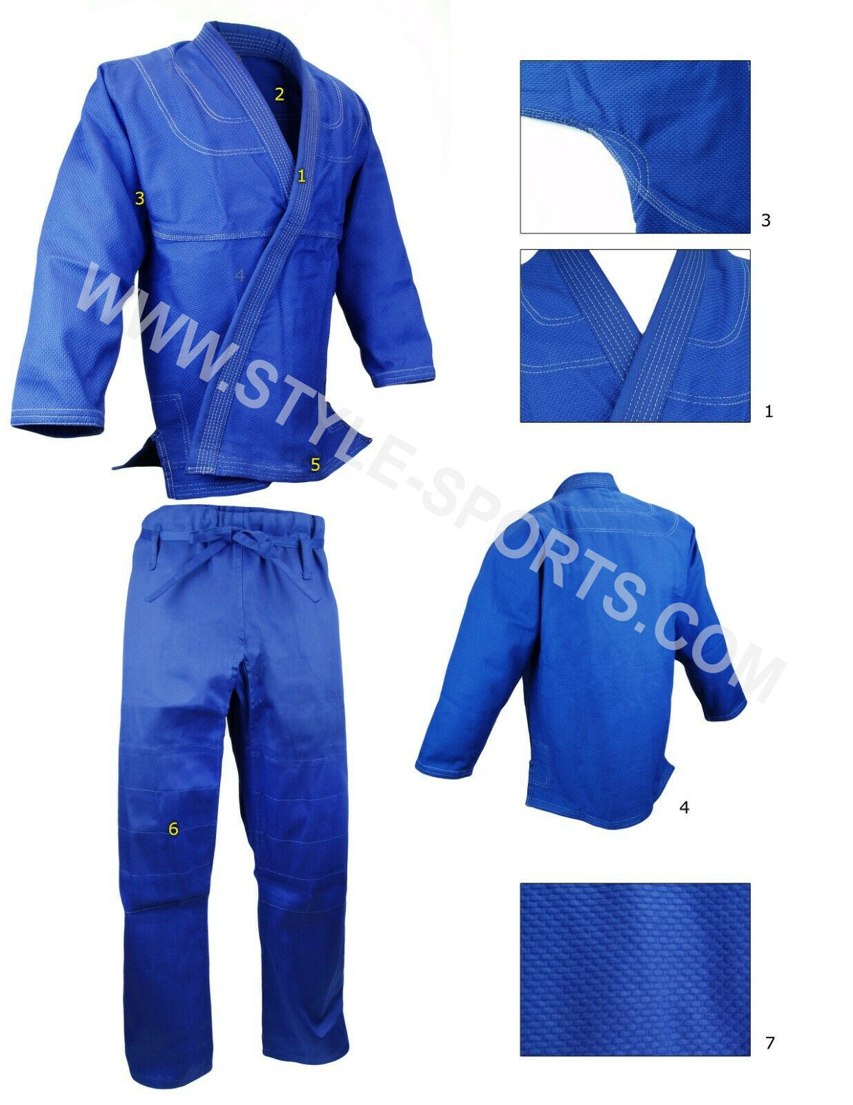 2020 Unisex Jiu Jitsu Gi Uniforms Martial Arts Uniform Bjj Gi Suits Lightweight Jiu Jitsu Uniform