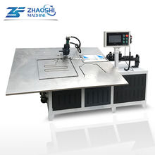 foshan 2-6mm multi function CNC automatic stainless steel iron wire shaping 2d bender 2D wire bending machine