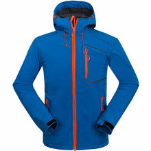 Soft Shell Jacket Outdoor Hiking Men soft shell Waterproof Jacket