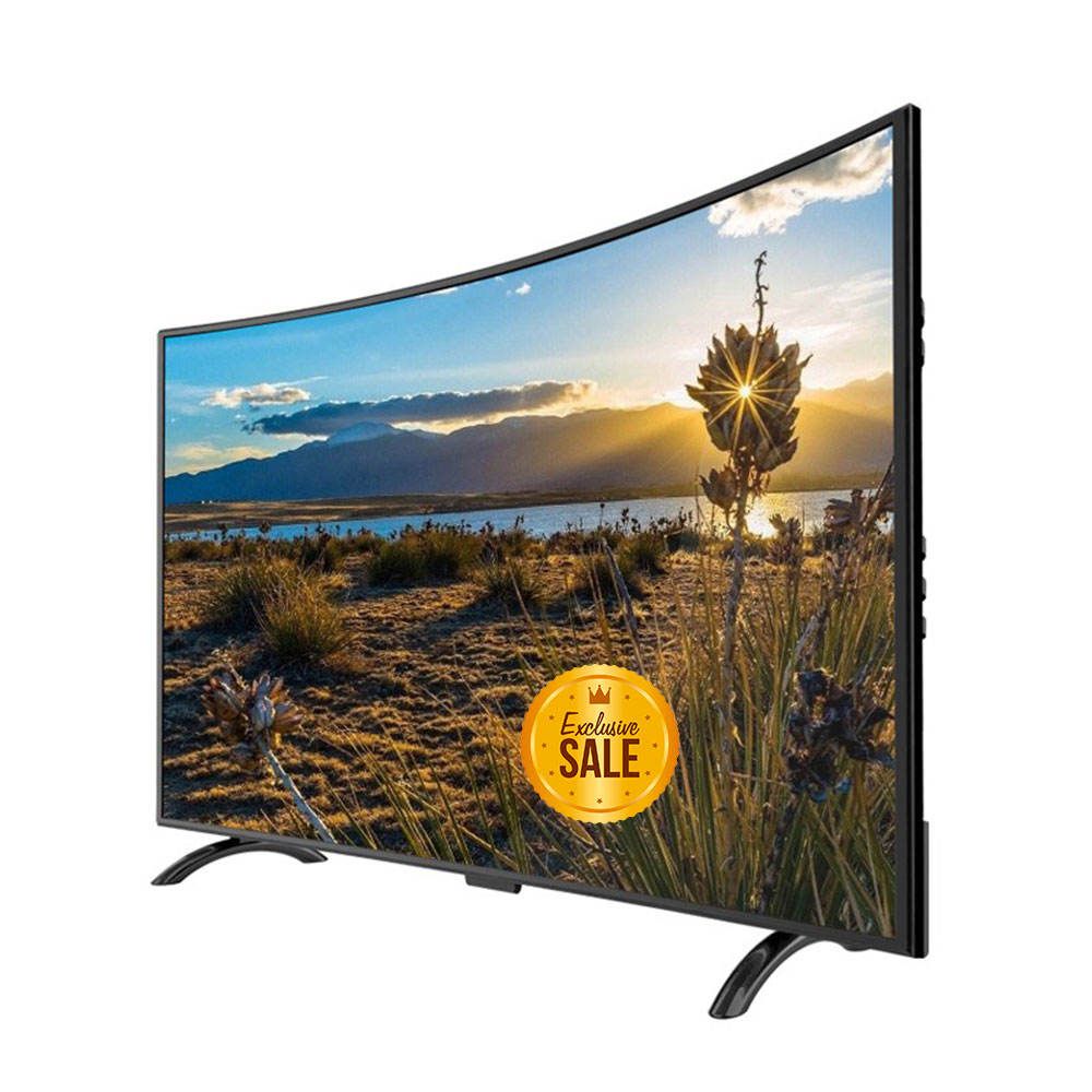 New Quality 75 inch LED television smart TV 4K Curved O LED TV as seen on 65 8K big HD curved screen Television Android