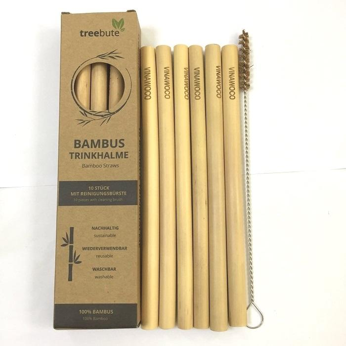 Bamboo straw high quality - Vnpro for big selling from Vietnam factory 2020