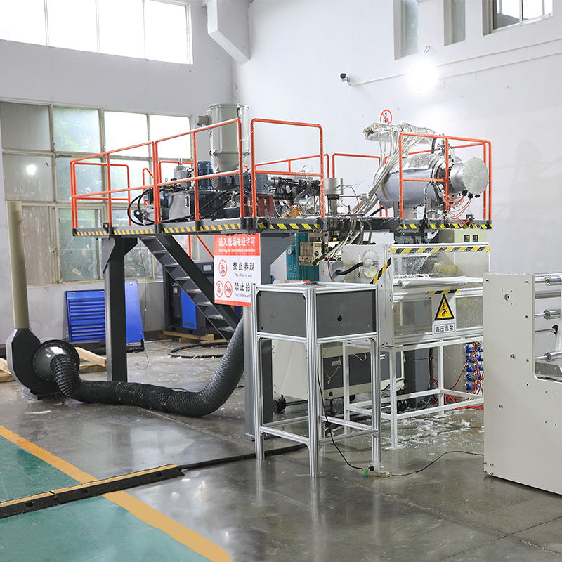 1600mm PP meltblown extrusion line