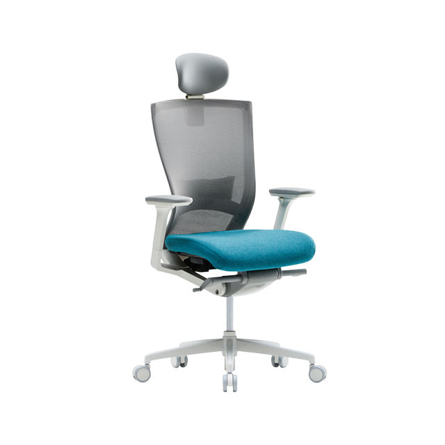 Office Chair_ A chair that perfectly responds to changes in the user's posture and is surprisingly easy to operate.