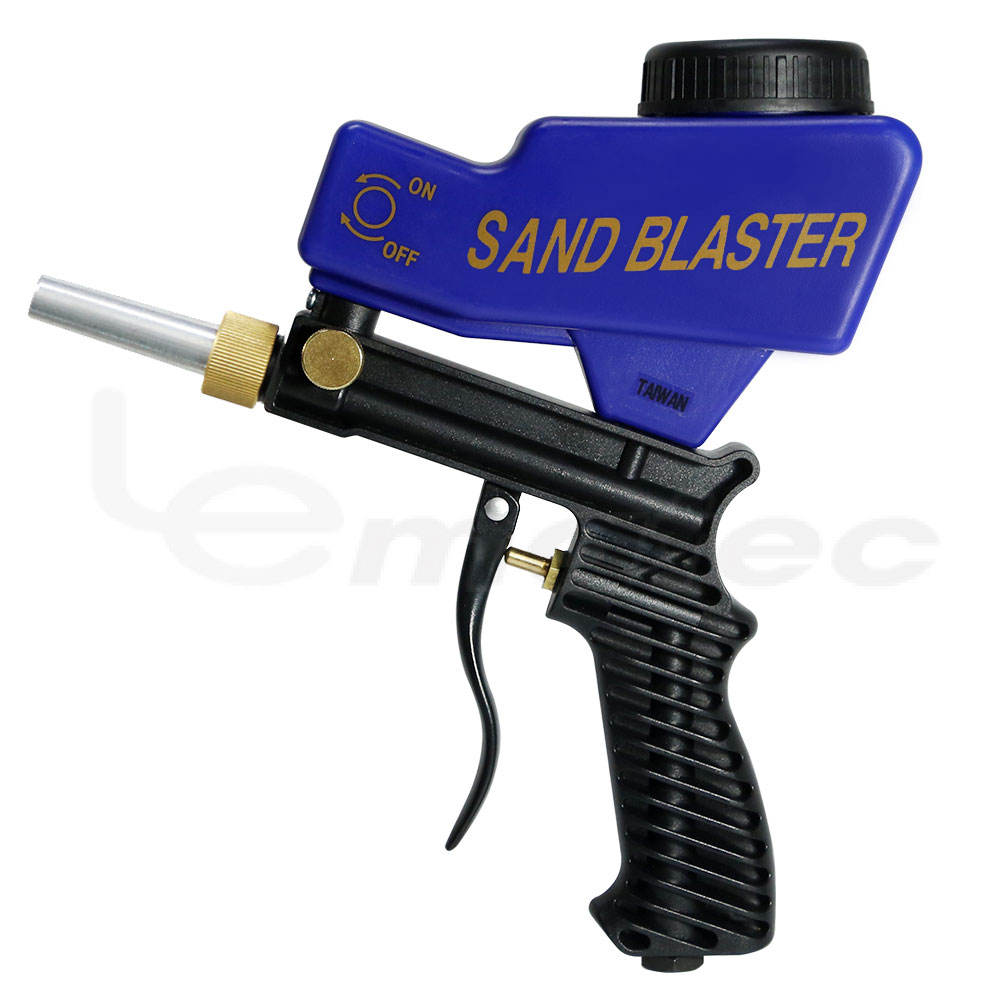Vacuum Sandblaster For Remove Rust Soda Portable Sandblasting Gun Mini Type Abrasive Media Gun Taiwan Made