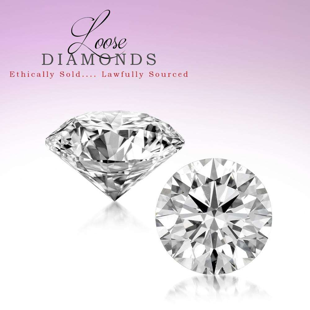 Natural Luxury Loose Diamonds 3/4 Ct to 5/8 Ct Real Loose Diamonds I1I2 Clarity and GHI Colour Quality Loose Diamonds