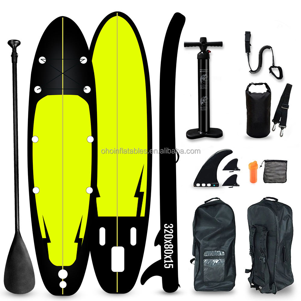 Factory Price Inflatable Sup Stand Up Paddle Board Customzied Water Sports Air Inflatable Surfing SUP Board for Surfer