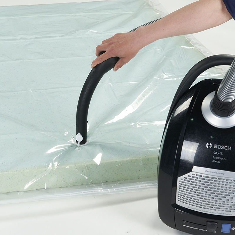 Big vacuum compression storage mattress plastic bag