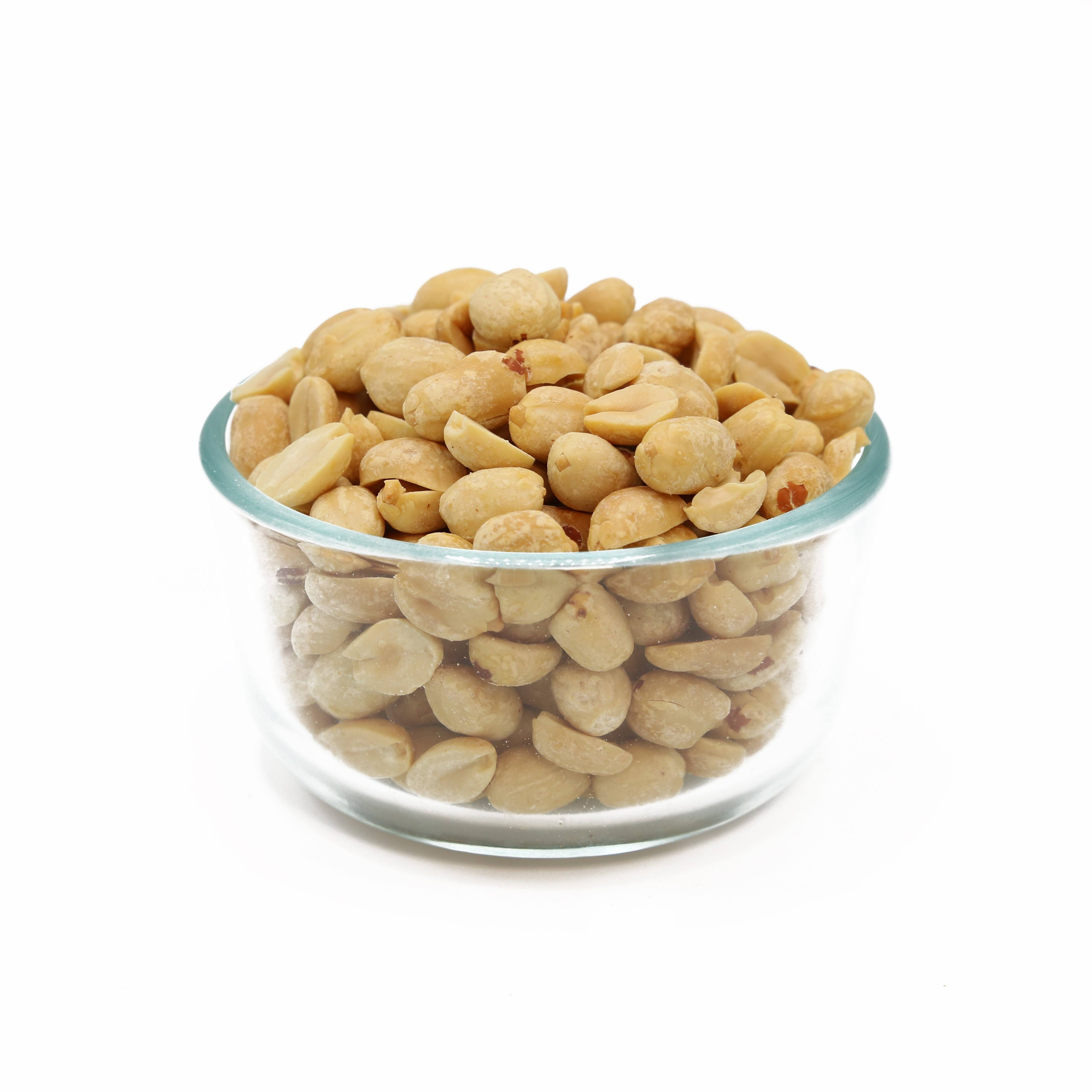 blached roast roasted peanuts no salt from America