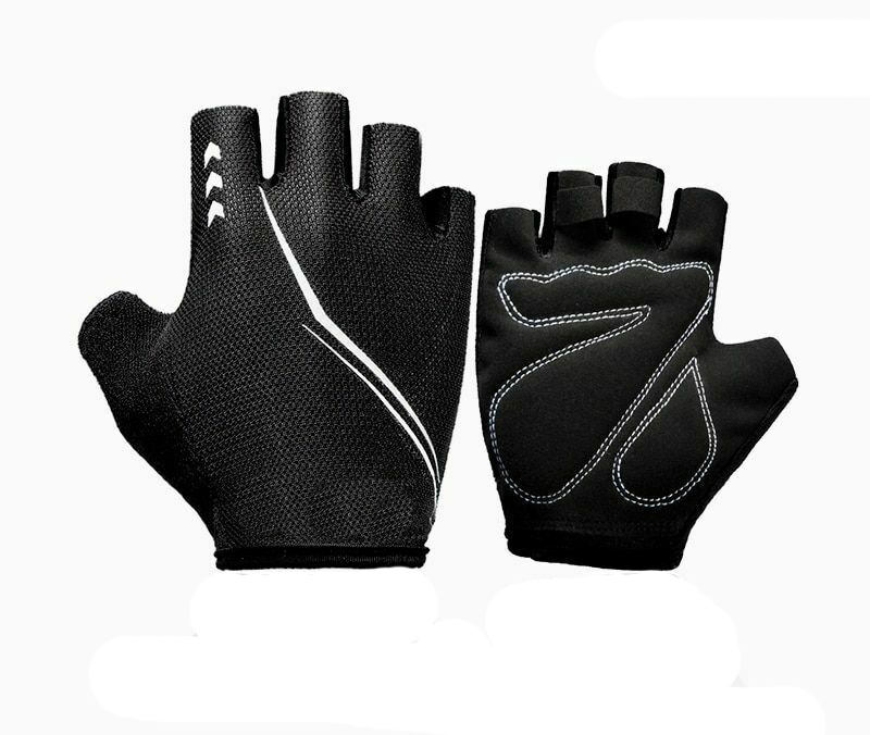 Children Mountain Biking Cycling Fingerless Half Hand Bike Rider Gloves