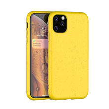 New Material Biodegradable Mobile Back Cover Shell Custom Tpu Cell Phone Case For Iphone 11 Pro Max