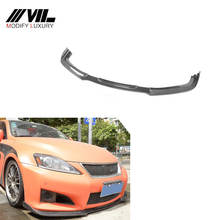 Carbon Fiber Front Chin Lip Spoiler for Lexus IS F Sport Sedan 4-Door 11-12
