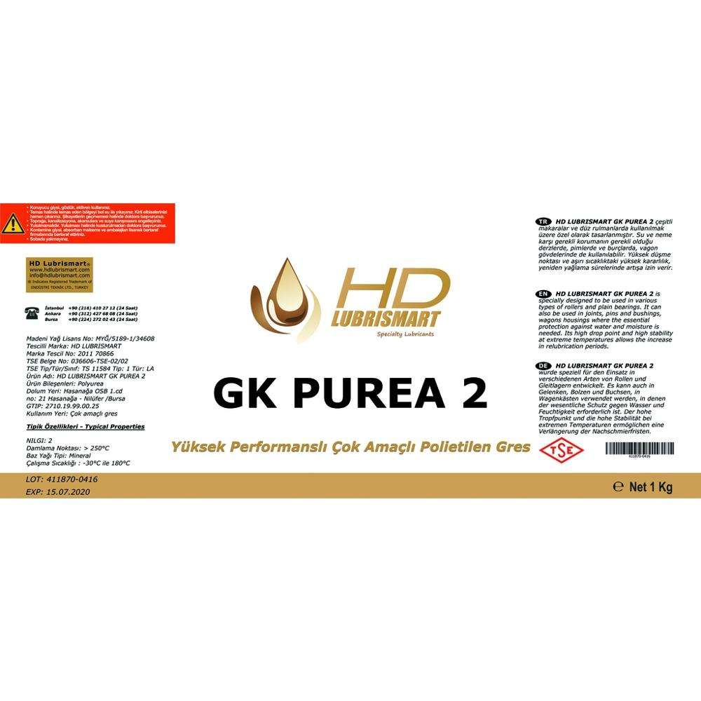 HD LUBRISMART GK PUREA 2 Grease
