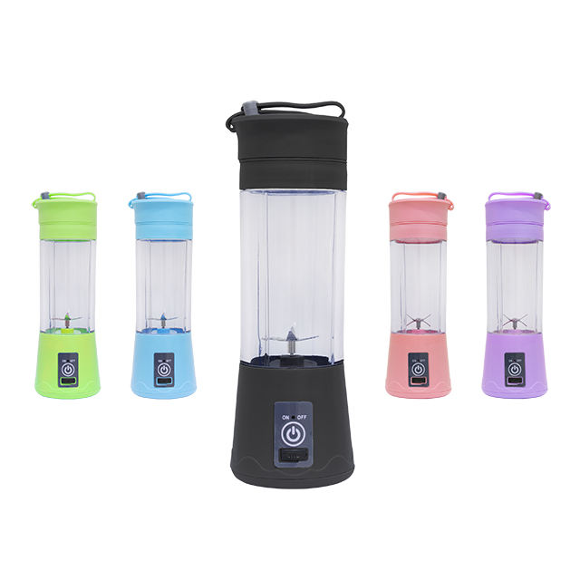 6 Baldes mini blender usb rechargeable personal cup juicer waterproof
