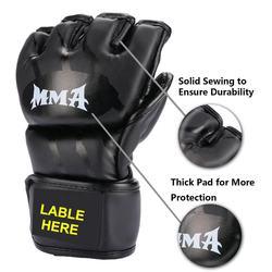 high quality Professional custom MMA gloves design your own MMA gloves wholesale custom logo boxing half finger mma Gloves