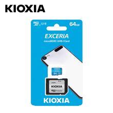 EXW price KIOXIA EXCERIA microSD card Toshiba SDXC TF card with adapter  U1 C10 memory card 64gb