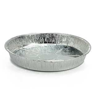 Round Shaped Aluminium Foil Pan Disposable Food Containers