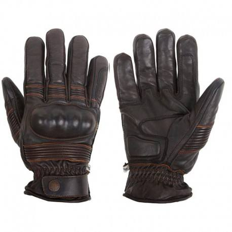 Finger save Gloves reinforced with soft knitted 320 GSM protective lining for biker safety gloves