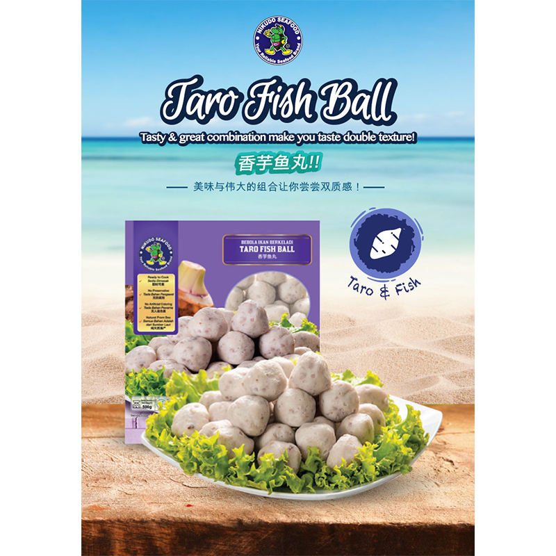 Hotpot food Taro Fish Ball