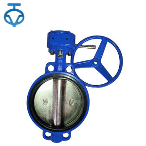 Wholesale 160mm flanged connection butterfly valve