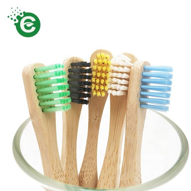 Small Brush Head Free Sample Best Brand Family Travel Bamboo Toothbrush