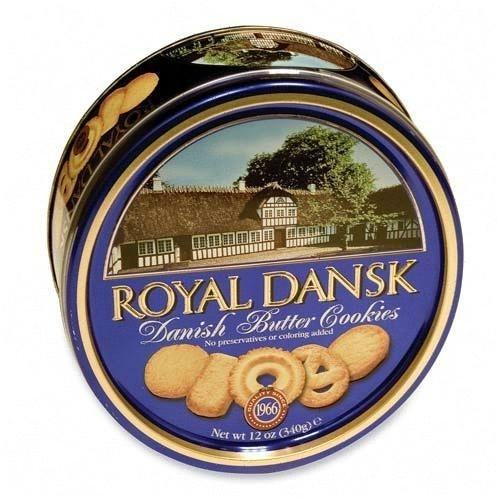 Biscuits au beurre danois Royal Dansk 340G
