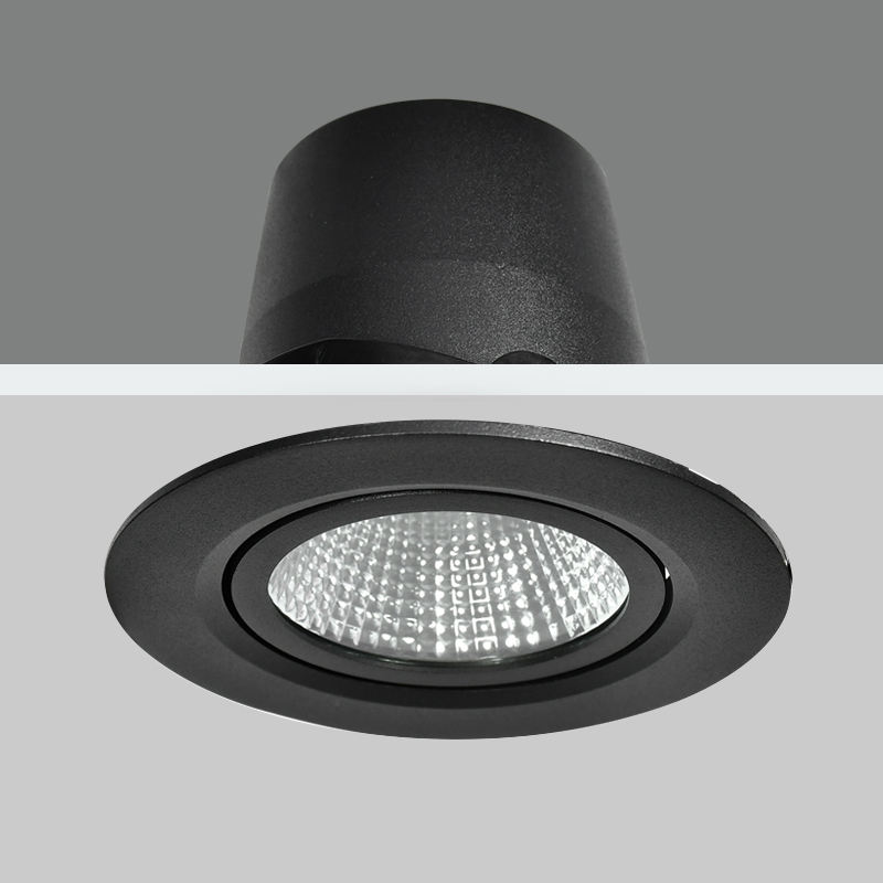 Ceiling Deep Anti-glare Recessed Downlight Dimmable LED Light 25W 35W Cutout 115mm