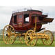 old west coach horse drawn American style carriage