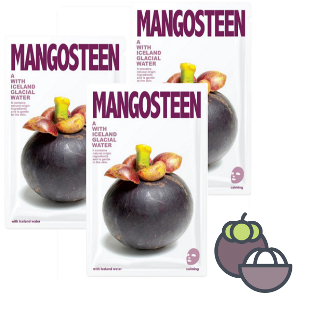 C-[Mangosteen] The Iceland Mangosteen mask sheet skin care(2/10)