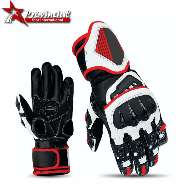Motorcycle Biker Racing Gloves Motor scooter Leather Gloves