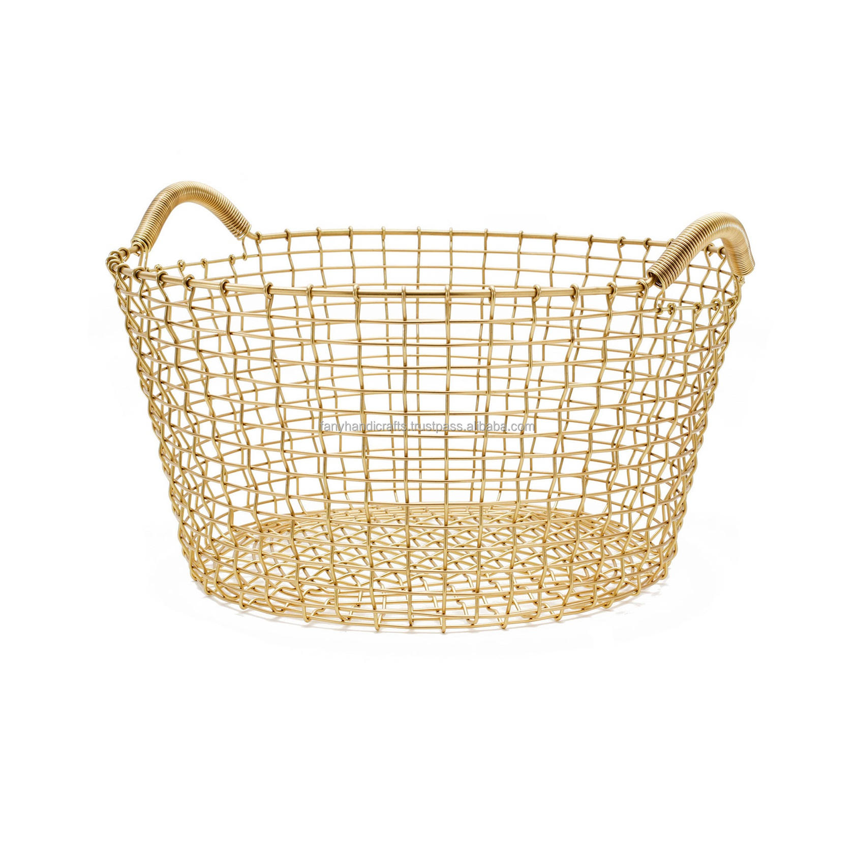 Home Decor Metal Wire Storage Basket