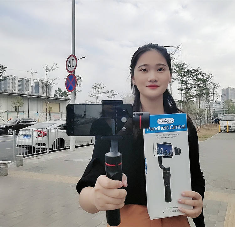 High performance gimbal stabilizer mobile 3 axis smartphone from China famous supplier