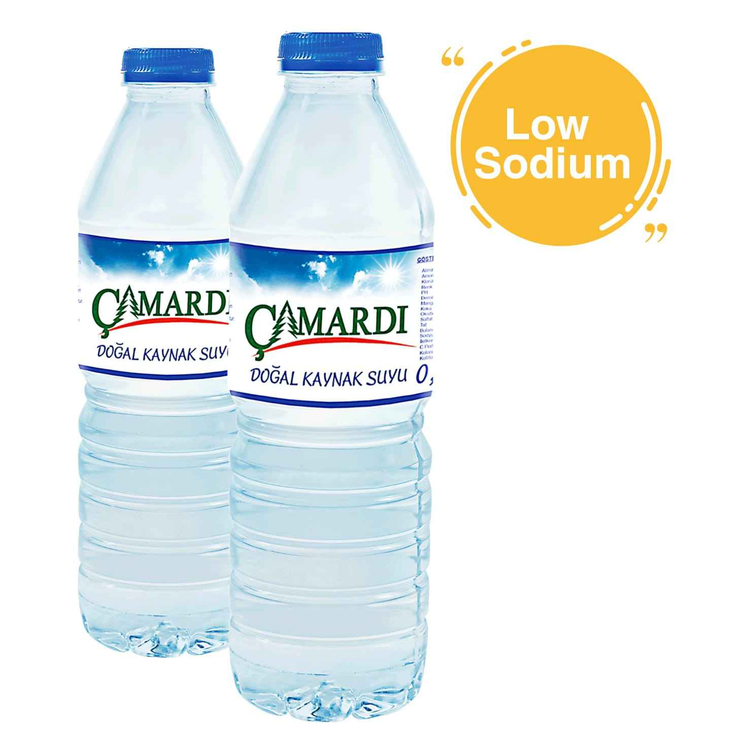 Spring Source and Plastic Bottle Packaging Nature Spring mineral water