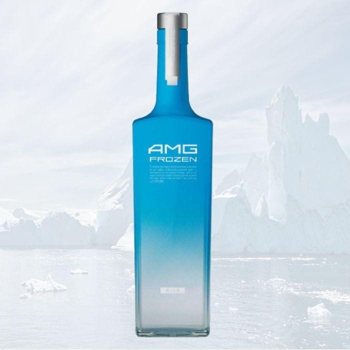 Vodka AMG Frozen 0.5L Russian /glass case bottle alcohol araq wodka Votka vodca beluga smirnoff finlandia russian prices vodka
