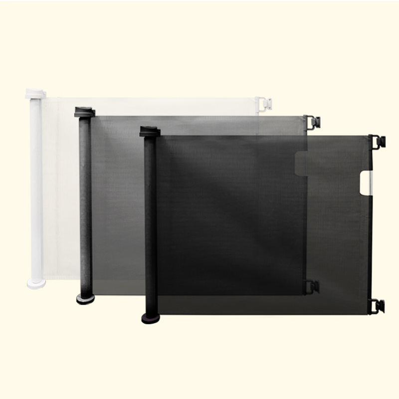 EN1930 best child net pet safety Customized adjustable retractable baby barrier door safety gate