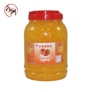 Taiwan Bubble Tea Supplier - Mango Coconut Jelly Topping