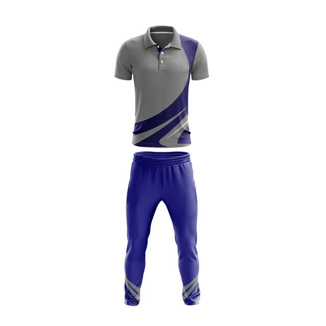 Custom Fashion Cheap Wholesale Custom Sublimation Cricket Jersey & Pant