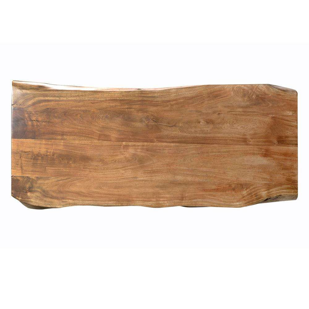 South America natural shape acacia walnut solid live edge dining tables wood slab acacia wood slab