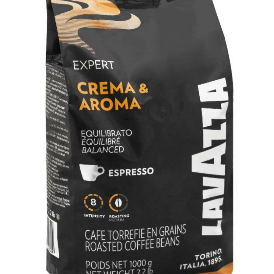 Lavazza Expert CREMA AROMA 1 kg roasted coffee beans