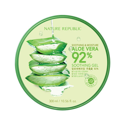 [Nature Republic]SOOTHING & MOISTURE ALOE VERA 92% SOOTHING GEL 300ml/Korean cosmetics Skin Care