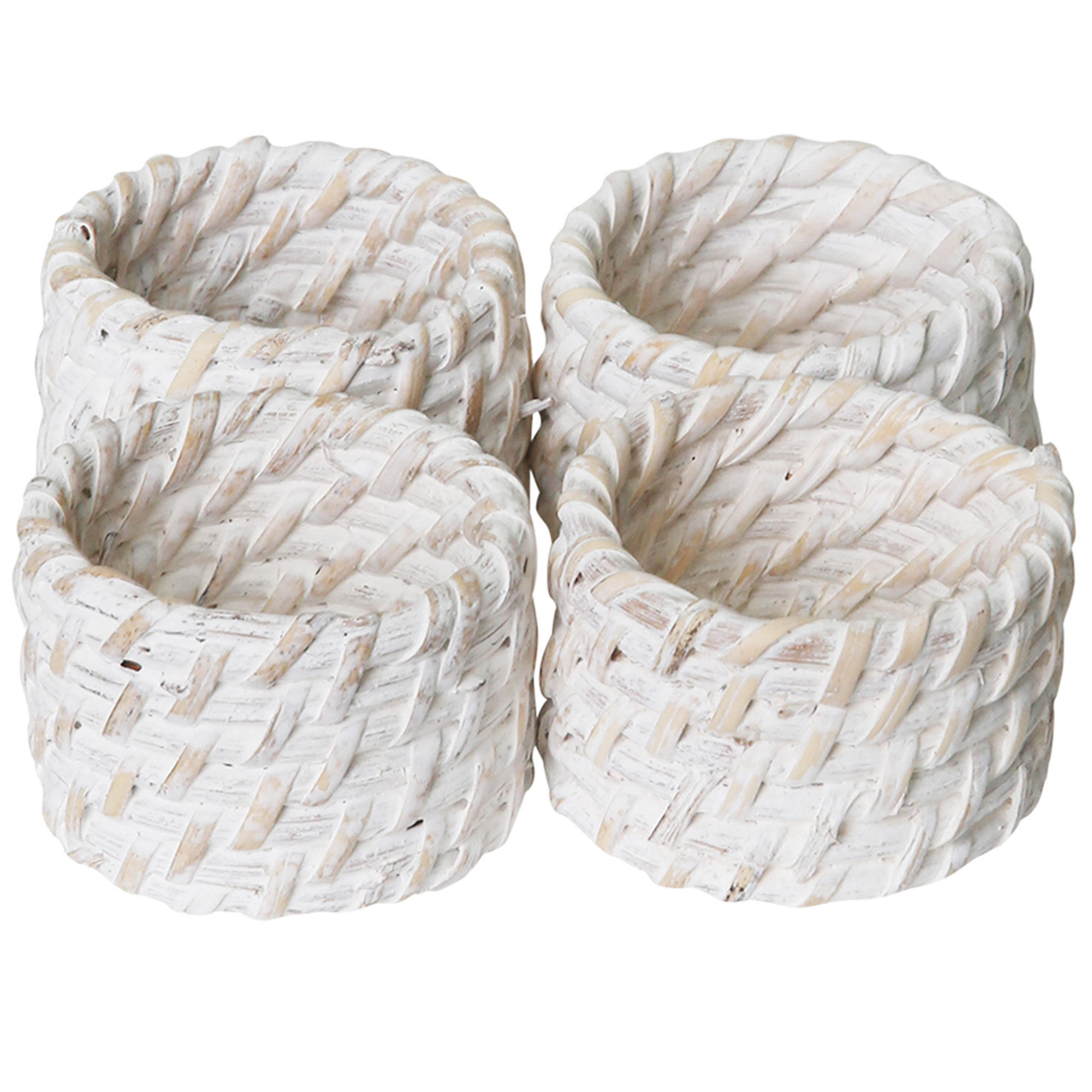 Rattan napkin rings for table decoration cheap price OEM custom logo accepted