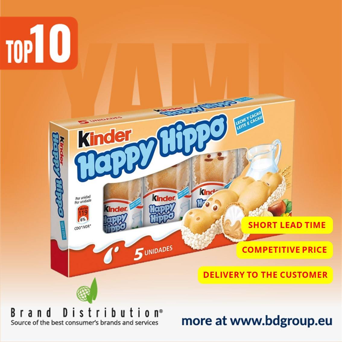 Kinder-Happy Hippo 20,7x5