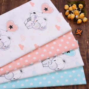 pattern printed cotton drill fabric 100% cotton safety printed