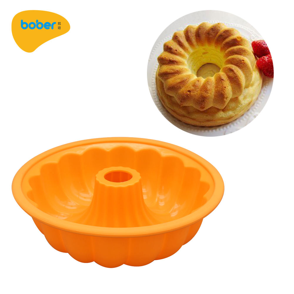 Cake model Food Grade Silicone Round 3D Pumpkin Shape Pastry Mould Cake Tools For bread