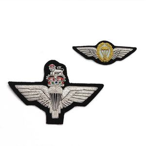 15 Scottish Volunter BN The Parachute Regiment Wire Badge 11cm x 11cm